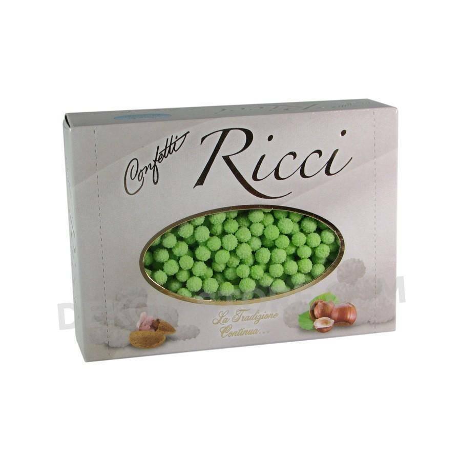 maxtris maxtris riccetti - confetti  verde 1 kg