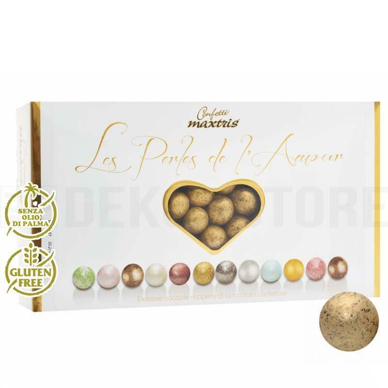 maxtris confetti maxtris les perles de l'amour hiver - oro antico 1 kg