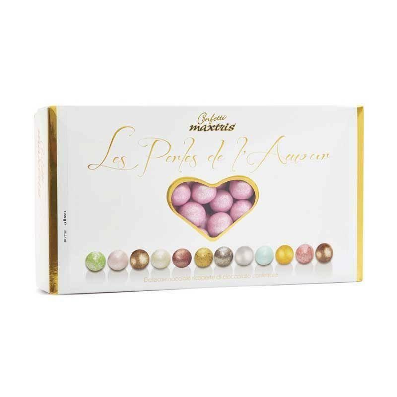maxtris maxtris les perles de lamour  1 kg rosa perlato
