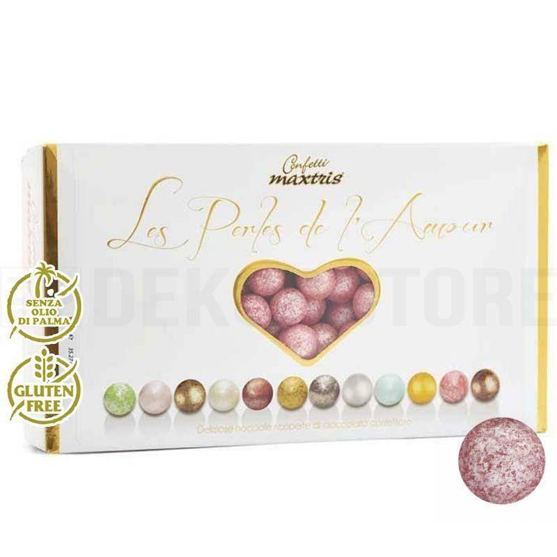 maxtris confetti maxtris les perles de l'amour ete' - rosso perlato 1 kg