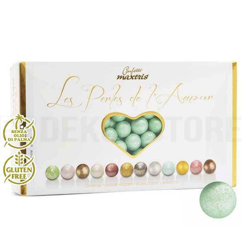 maxtris confetti maxtris les perles de l'amour ete' - verde perlato 1 kg
