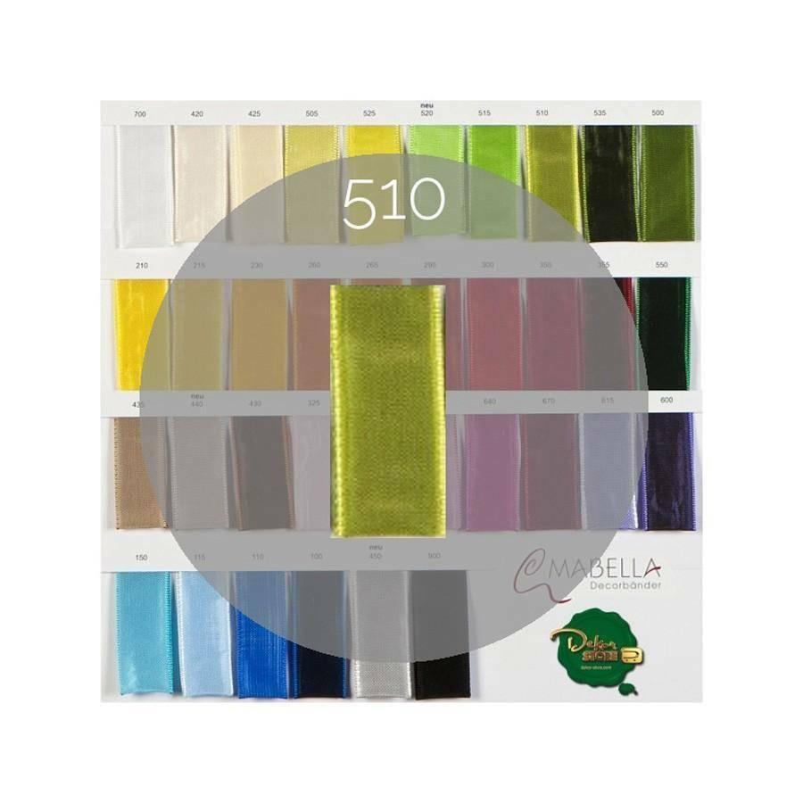 mabella mabella nastro verde marcio 25mm x 25mt - animato -  2030 col.510