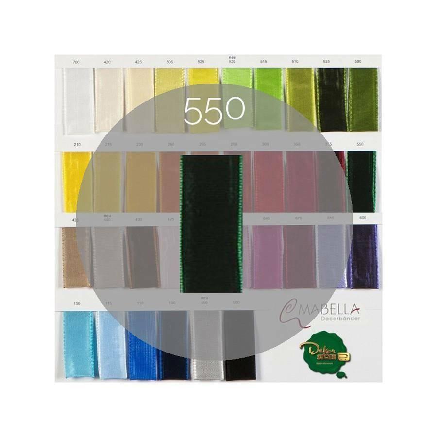 mabella mabella nastro verde smeraldo 25mm x 25mt - animato -  2030 col.550