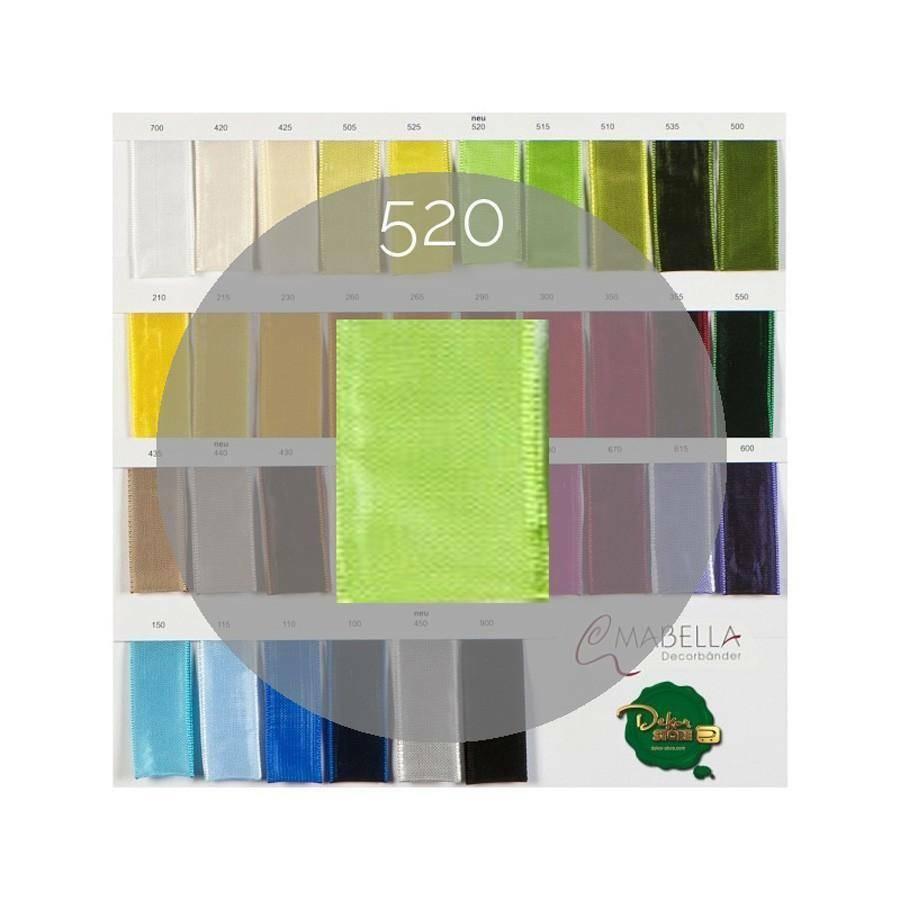 mabella mabella nastro verde acido 40mm x 25mt - animato -  2030 col.520