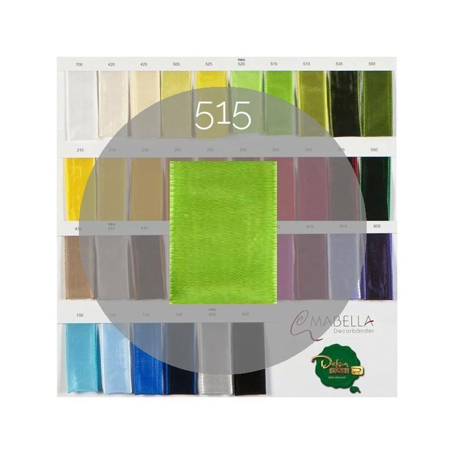 mabella mabella nastro verde mela 40mm x 25mt - animato -  2030 col.515