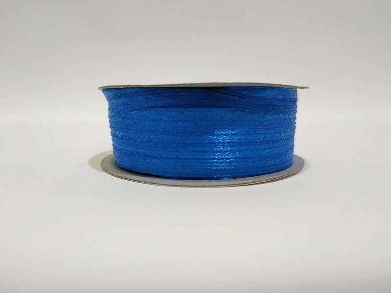 doppio raso 3 mm new blue x 50 mt - satinato