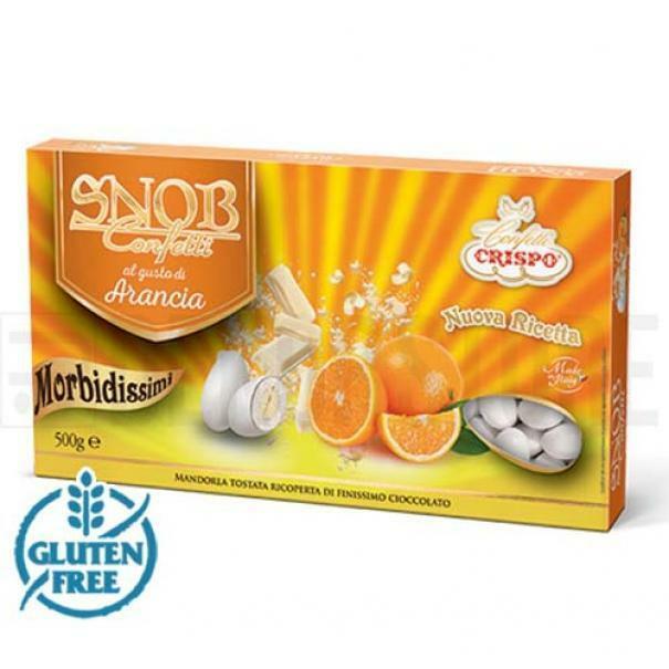 crispo confetti crispo arancia - snob 500 gr