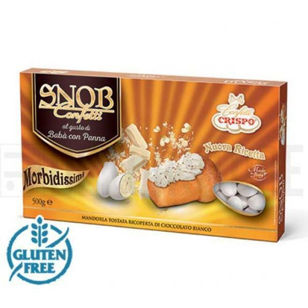 crispo confetti crispo baba e panna - snob 500 gr