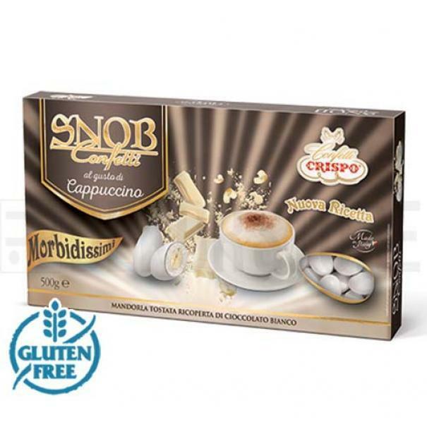 crispo confetti crispo cappuccino - snob 500 gr