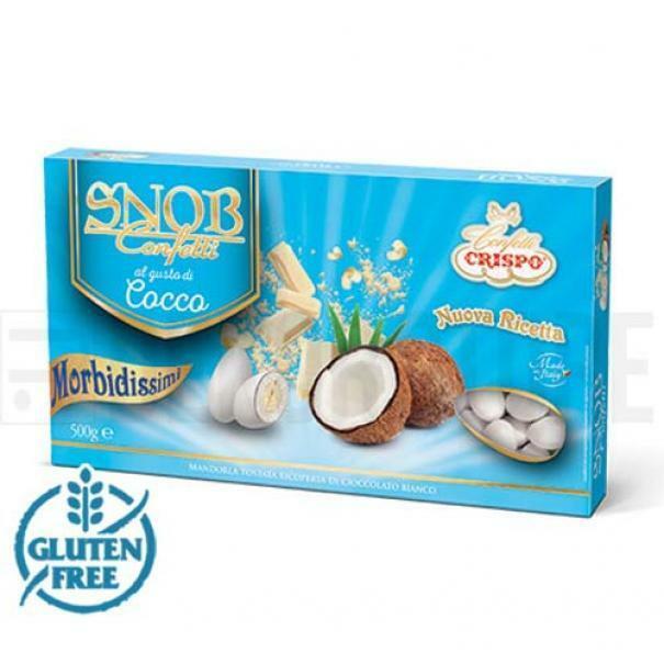 crispo cocco - confetti crispo snob 500 gr