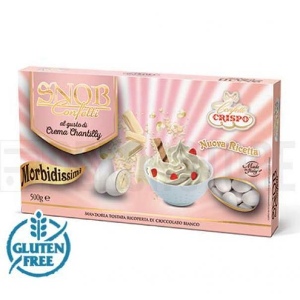 crispo crispo crema chantilly - confetti  snob 500 gr.