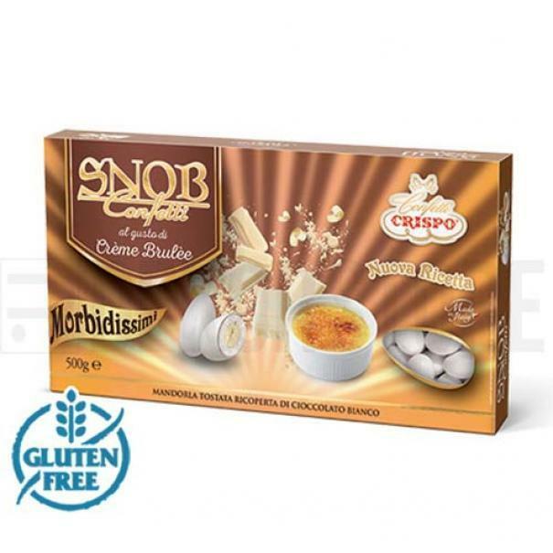crispo crispo creme brulee - snob confetti  500 gr.