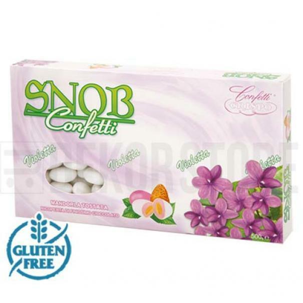 crispo crispo violetta - snob confetti  500 gr.
