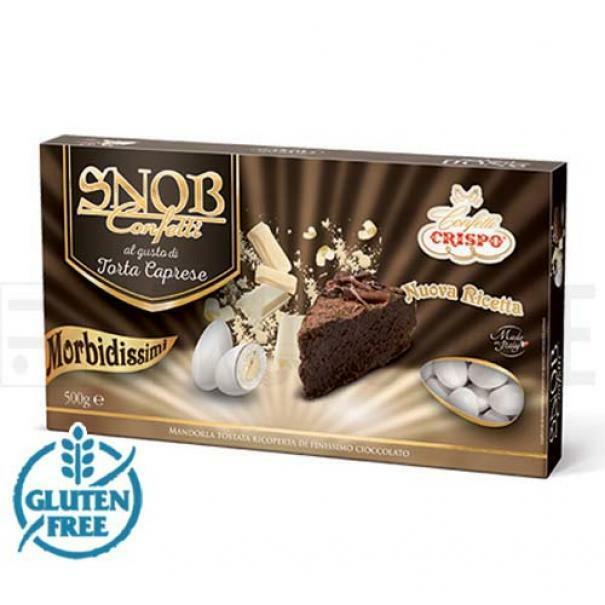 crispo confetti crispo torta caprese - snob 500 gr