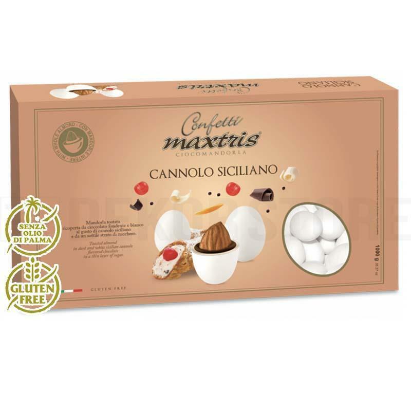 maxtris confetti maxtris cannolo siciliano - 1 kg