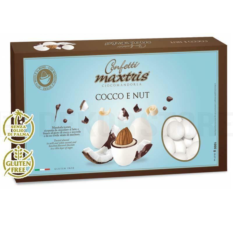 maxtris confetti maxtris cocco e nut - 1 kg