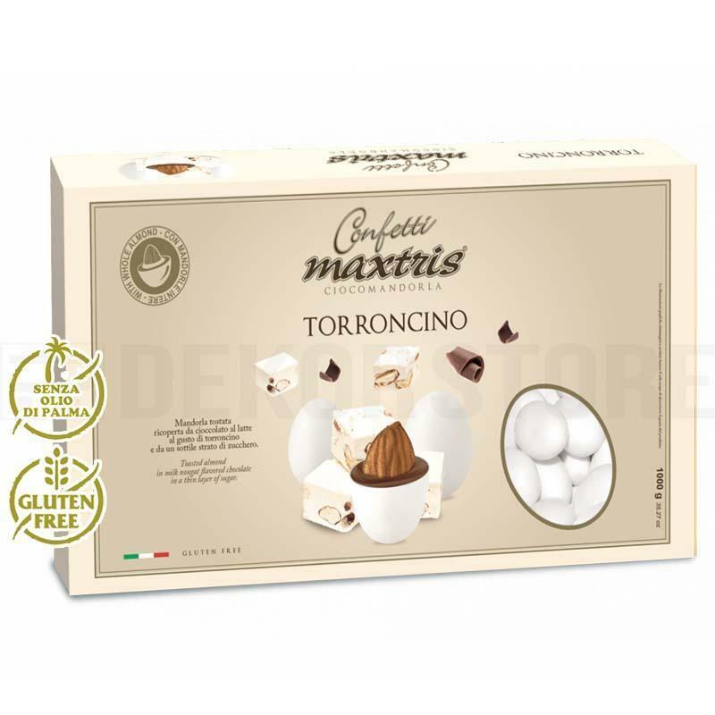 maxtris confetti maxtris torroncino - 1 kg