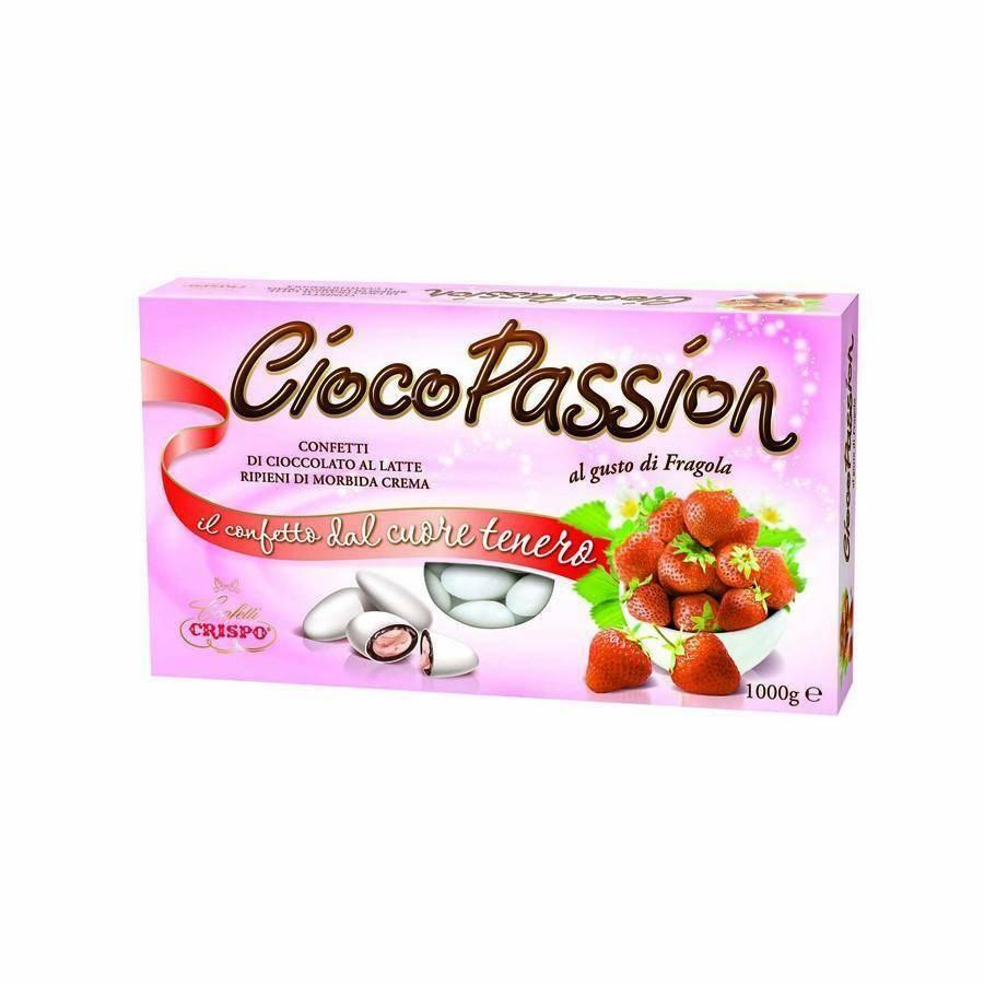 crispo crispo fragola - ciocopassion confetti  1 kg