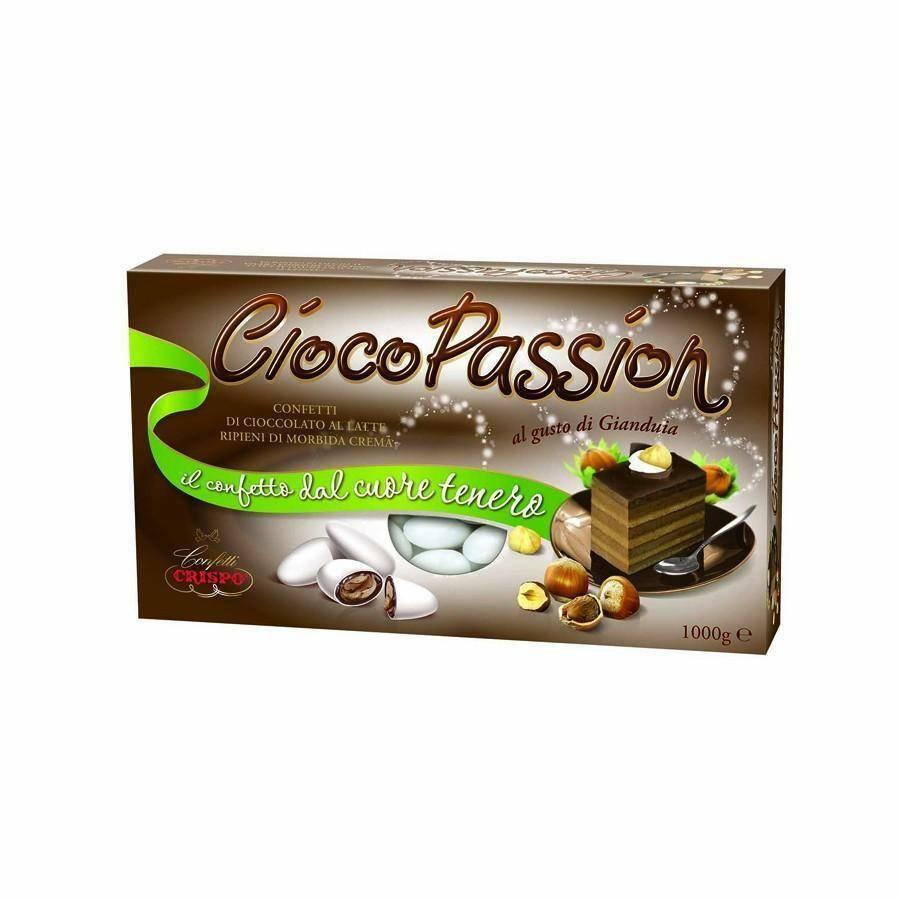 crispo crispo gianduia - ciocopassion confetti  1 kg