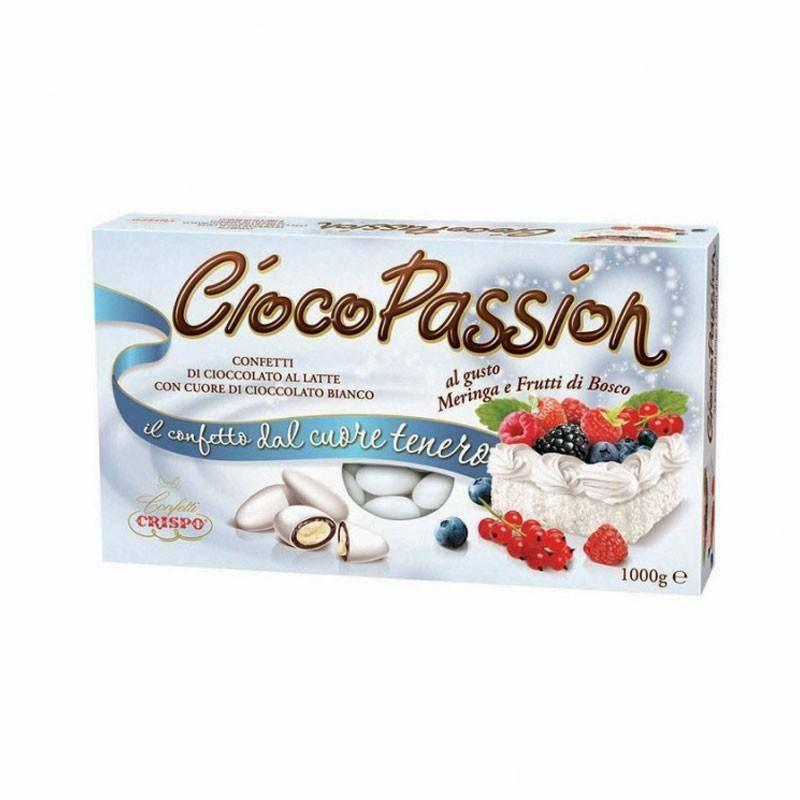 crispo crispo meringa e frutti di bosco - ciocopassion confetti  1 kg