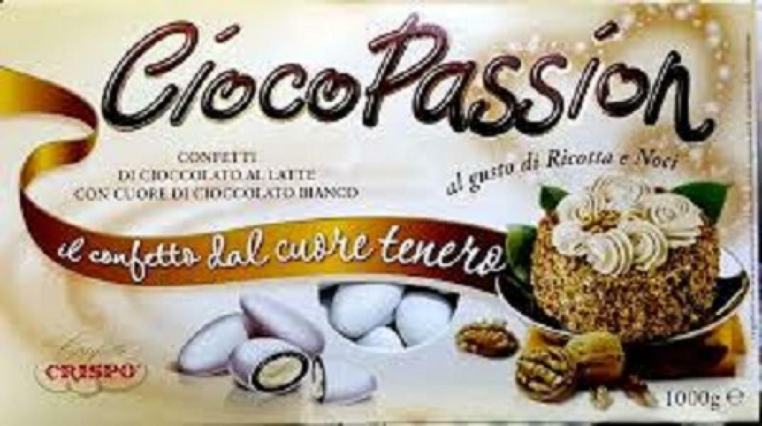 crispo crispo ricotta e noci - ciocopassion confetti  1 kg