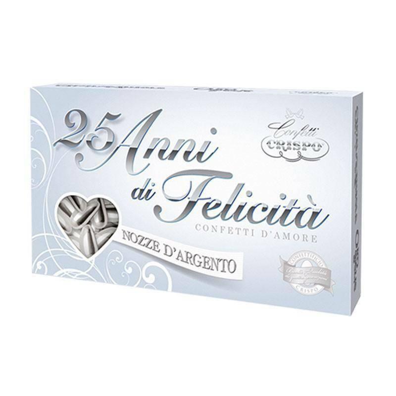 crispo crispo mandorla pelata argento - confetti  500 gr.