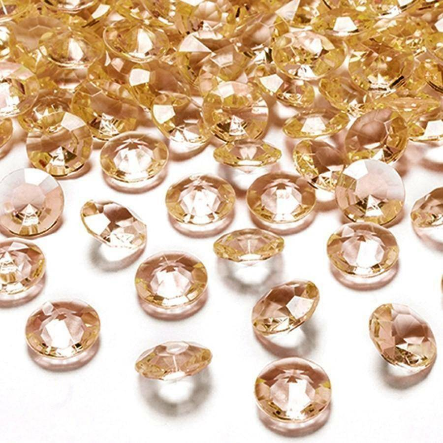 eurosand diamanti in pvc ambra 19 mm (100 ml - 45 pz ca.)