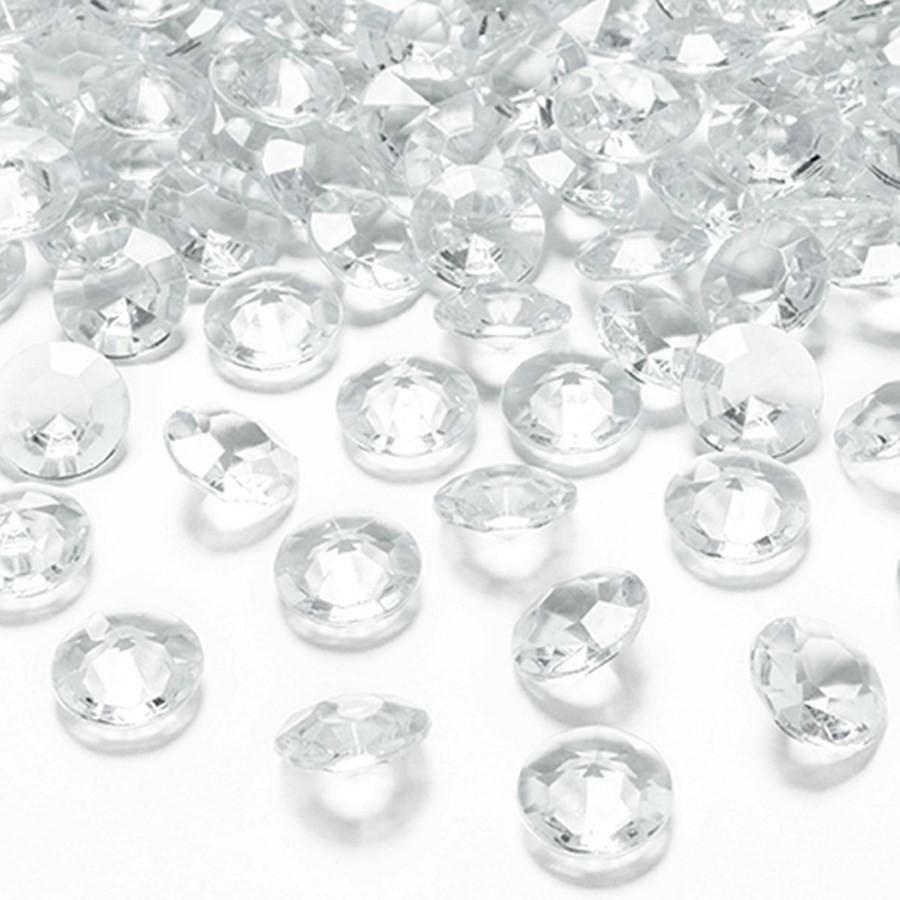 eurosand diamanti in pvc  trasparenti 19 mm (100 ml - 45 pz ca.)
