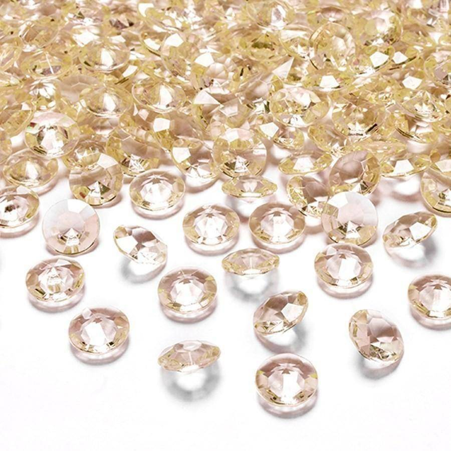 eurosand diamanti in pvc champagne 12 mm (100 ml - 170 pz ca)