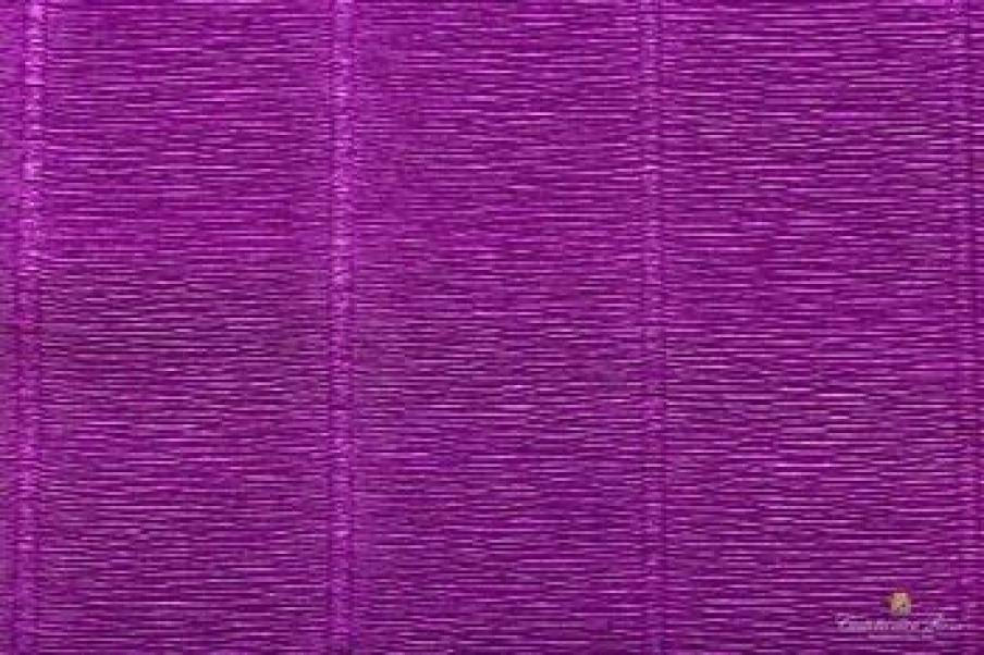 cartotecnica rossi cartotecnica rossi carta crespata viola professionale da 180gr (50 x 250cm)