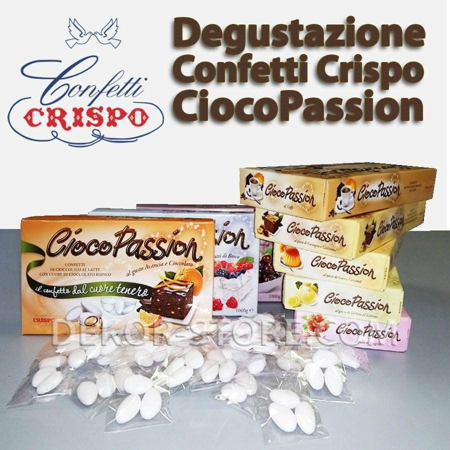 crispo degustazione ciocopassion - confetti crispo