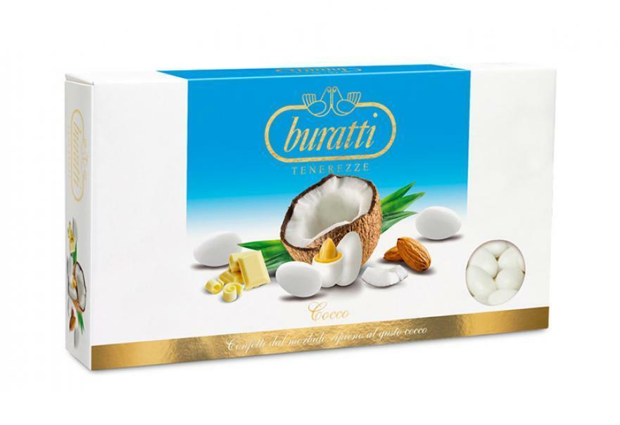 buratti buratti cocco - confetti 1 kg
