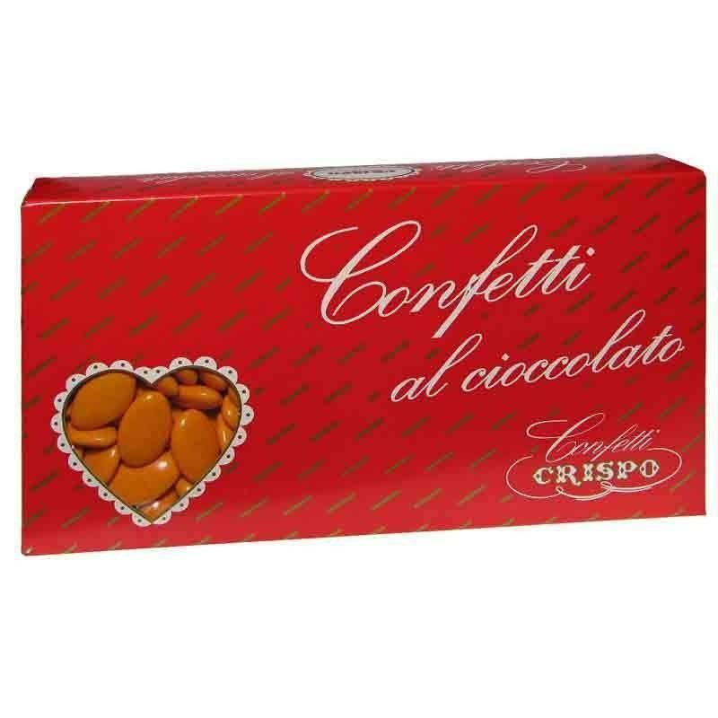 crispo crispo arancio - confetti al cioccolato fondente 1 kg