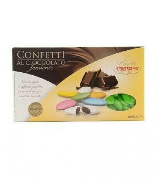 crispo crispo verde - confetti al cioccolato fondente 1 kg