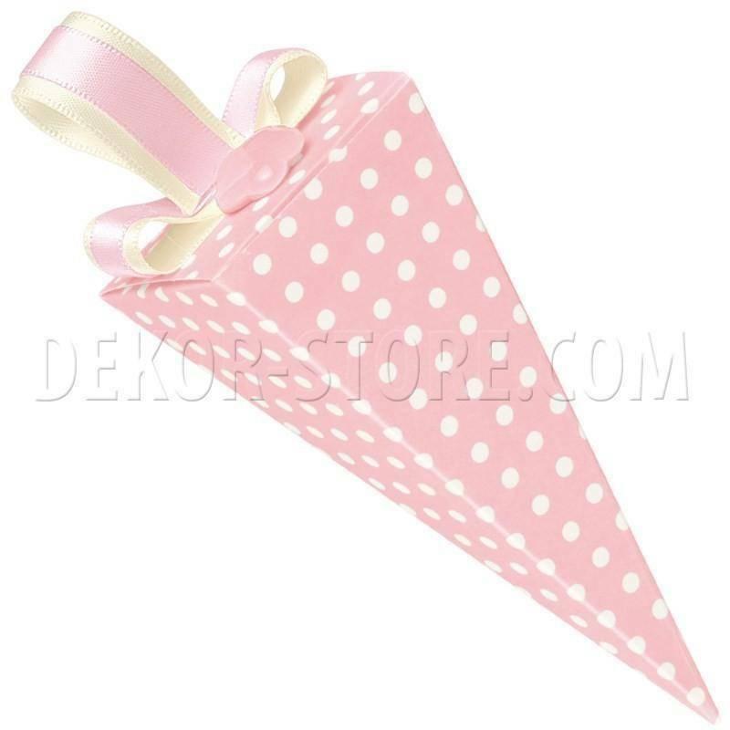 scotton spa cono atelier rosa con foro 115 mm - 13 pz
