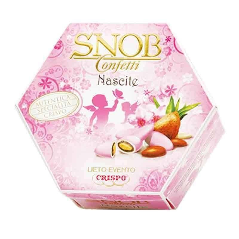 crispo crispo lieto evento snob rosa gusti assortiti -  500 gr.