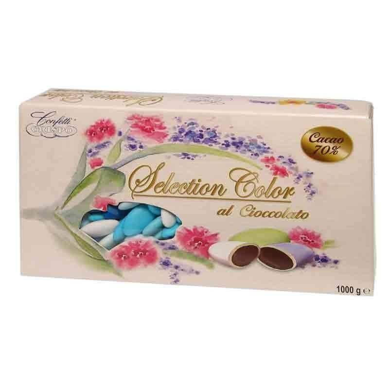 crispo crispo selection celeste - confetti al cioccolato  1 kg