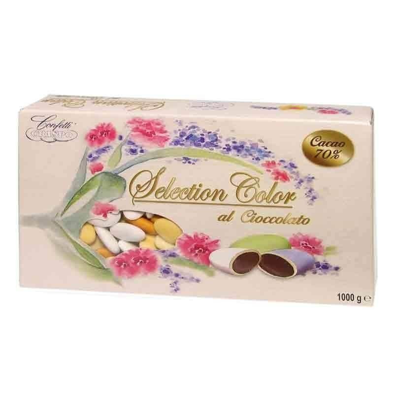 crispo crispo selection arancio - confetti al cioccolato fondente 1 kg