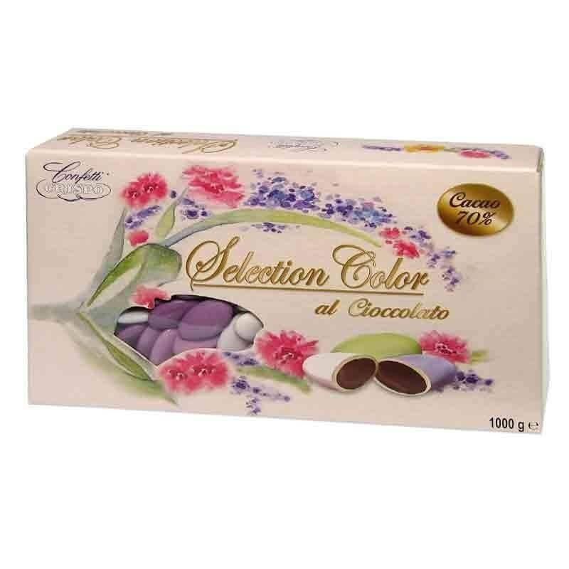 crispo crispo selection lilla - confetti al cioccolato  1 kg