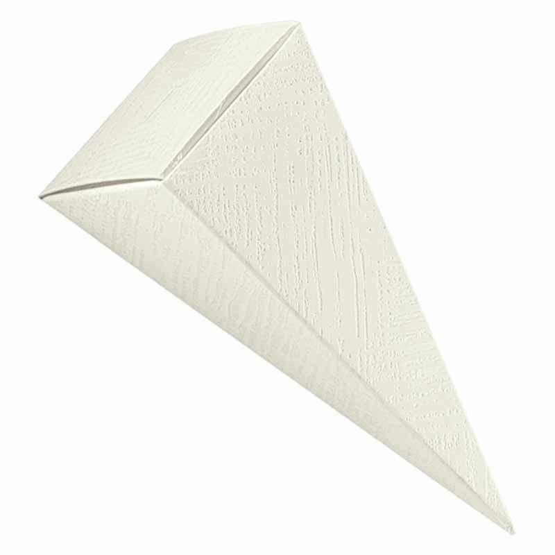 scotton spa cono tela bianco con foro 115 mm - 10 pz