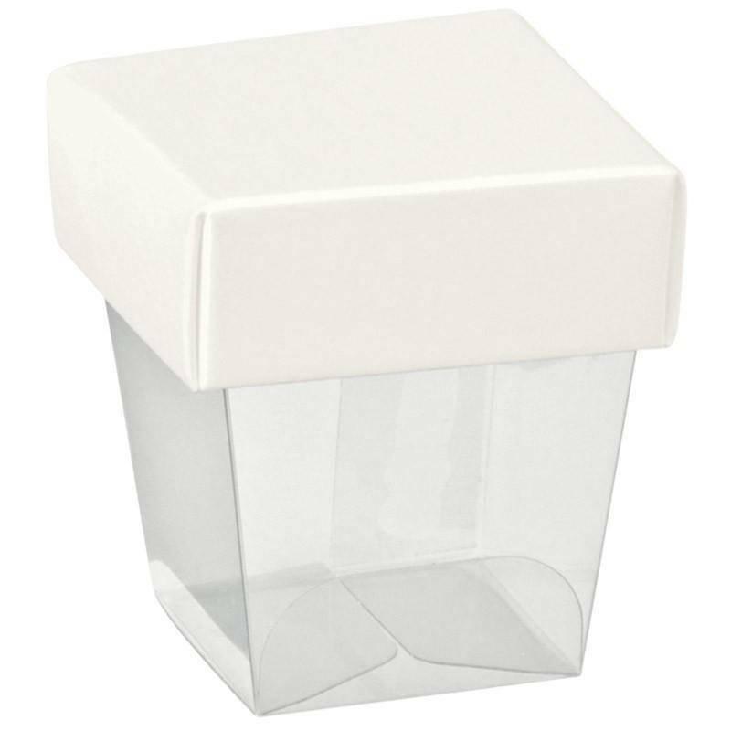 scotton spa scotton spa bicchierino 33x33x50 mm con coperchio white
