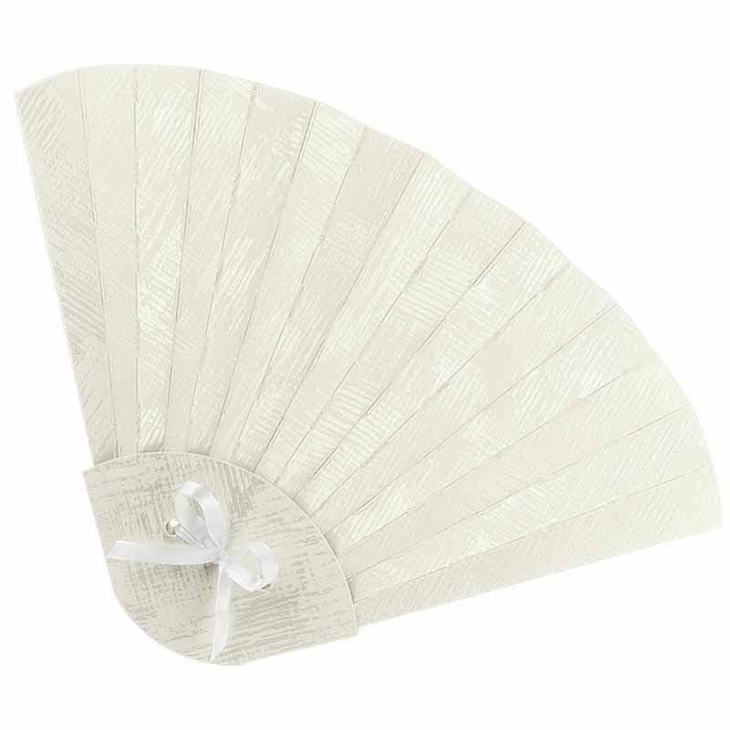 scotton spa ventaglio pieghevole in cartoncino shabby chic 315x205x10 mm - 4 pz