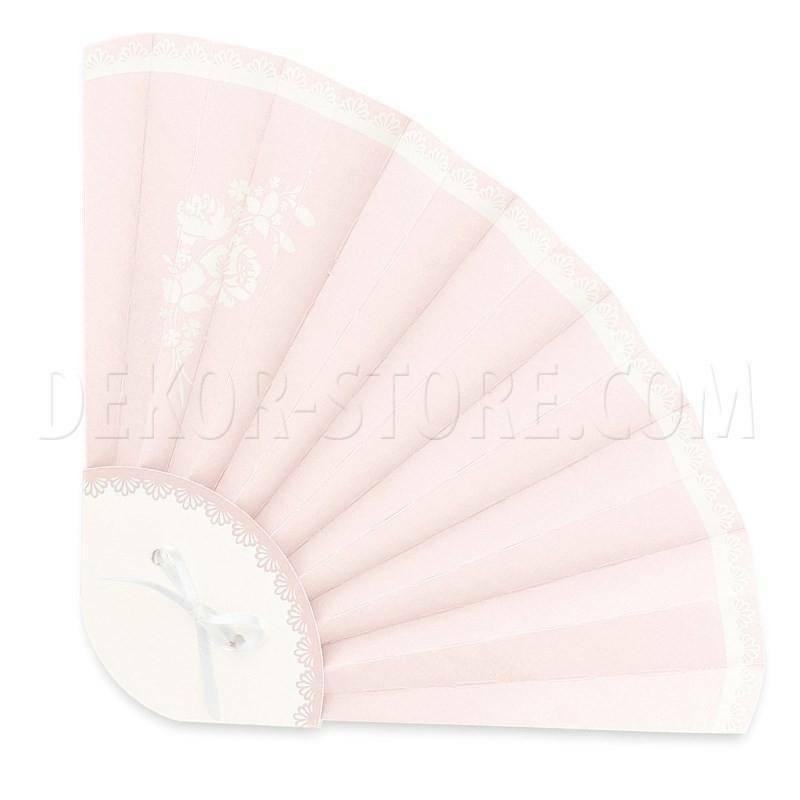 scotton spa scotton spa ventaglio 330x210 mm pieghevole in cartoncino shabby chic