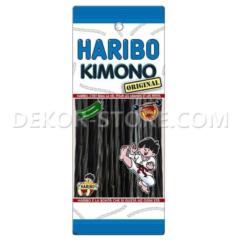haribo haribo kimono liquirizia  - 200gr.