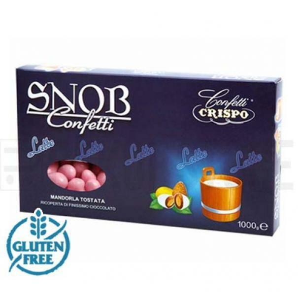 crispo crispo confetti snob  rosa - 1 kg
