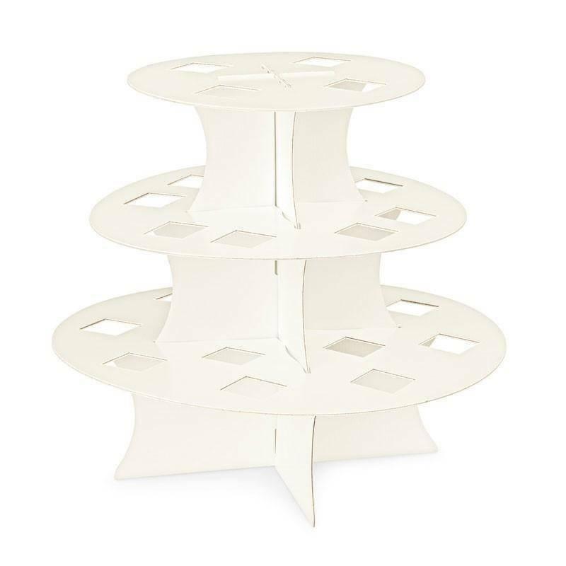 scotton spa alzata in cartoncino perlato per 24 coni - 330x290 mm