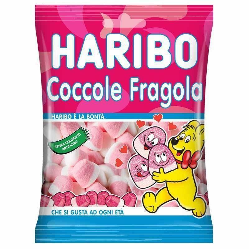 haribo haribo coccole fragola  - 175gr.