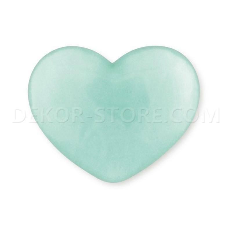 scotton spa scotton spa cuore verde acqua 18x15mm in resina