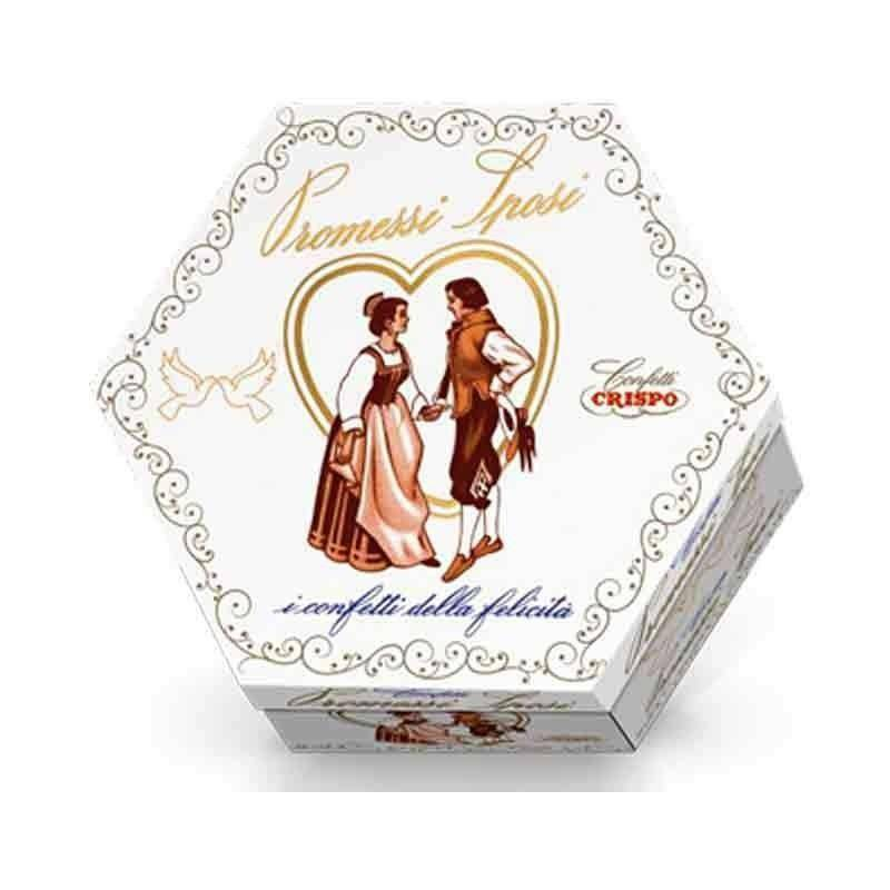 crispo crispo lieto evento promessi sposi mandorla bianca -  500 gr.