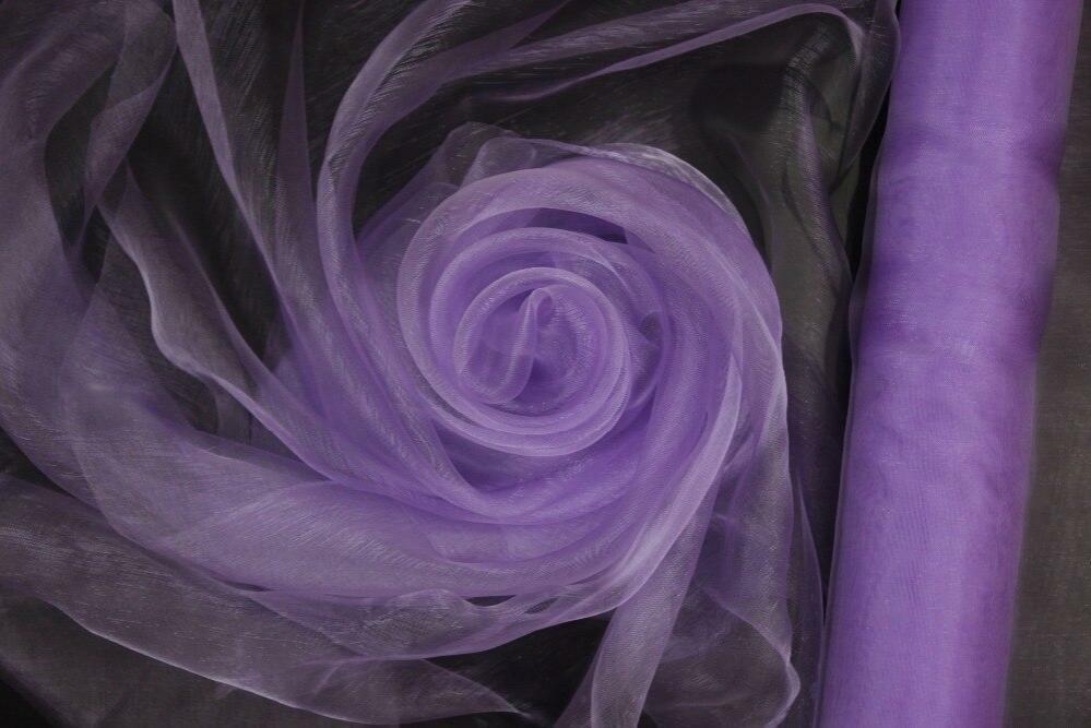 organza lilla - 37 cm x 10 yd